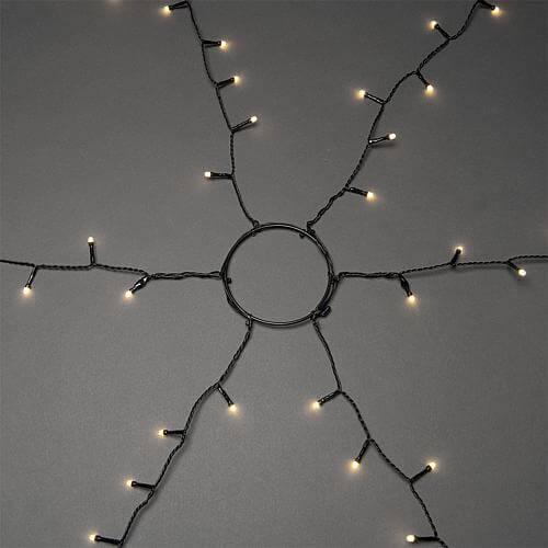 LED Baummantel gefrostet 450 ww LED außen 6662-130