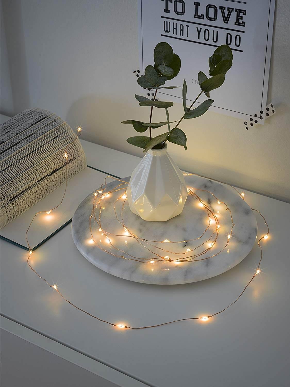 LED-Tropfenlichterkette Konstsmide 1460-860