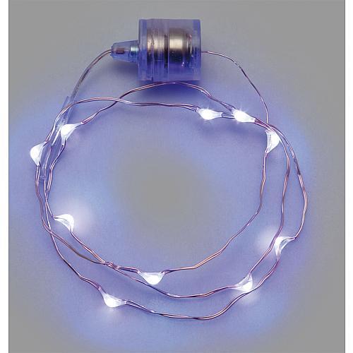 LED-Sternenlichterkette Brilly 10 LEDs weiß 38073