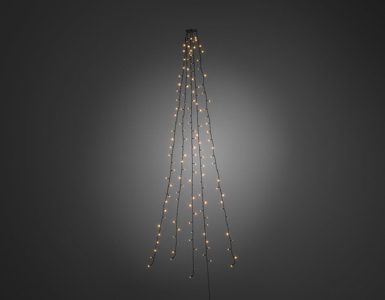 LED-Baumlichtermantel 5 Stränge mit je 40 LEDs Ø 8mm Konstsmide 6361-820