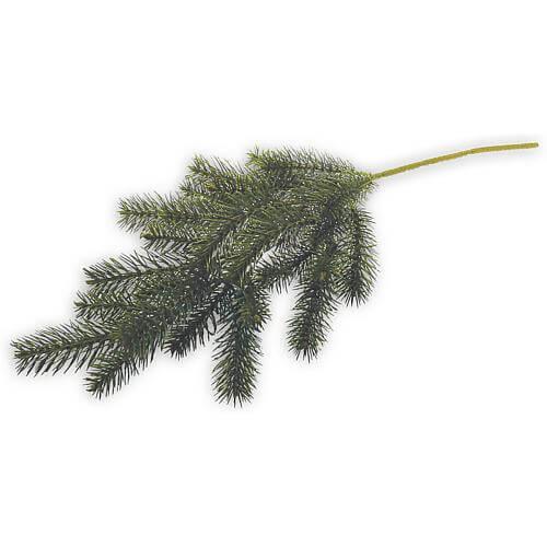 Nordmanntannen-Zweig 66cm grün
