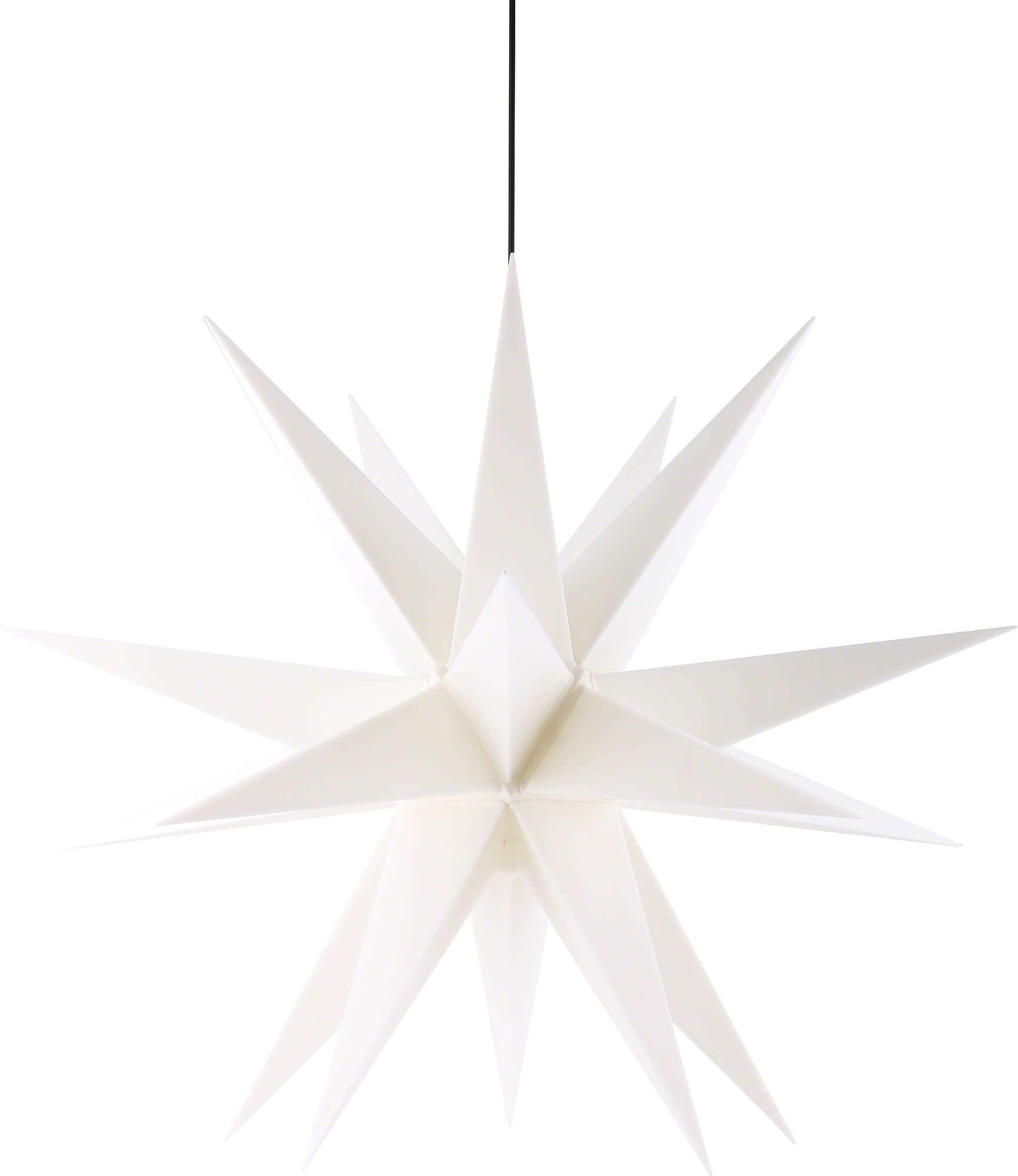Saico WS2005 LED-Weihnachtsstern Ø 60cm weiß