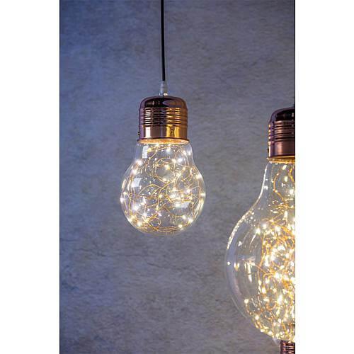 LED Dekoleuchte 'Glühbirne' 25cm 39001