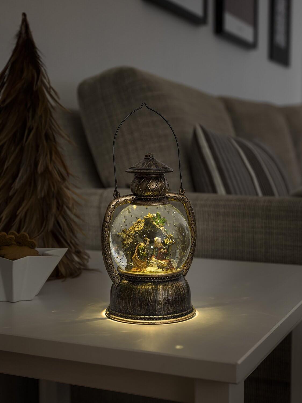 LED-Kugellaterne Weihnachtskrippe Konstsmide 3499-000