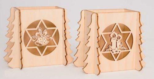 Schwibbogenerhöhung Kerze + Glocke Set  27901