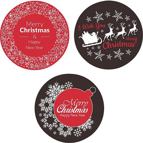 Gobo 3er-Set Merry Christmas Lotti 46030