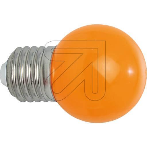 LED-Deko-Tropfenlampe E27 IP54 orange