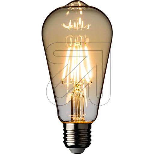 LED-Filament-Vintagelampe ST64 E27 4W 360lm 2200K 44074