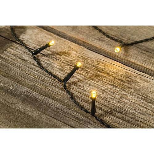 LED Lichterkette 24 warmweisse LED 32323