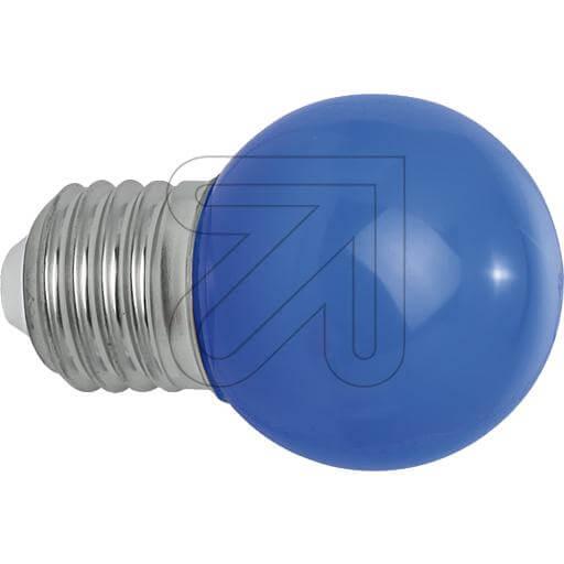 LED-Deko-Tropfenlampe E27 IP54 blau
