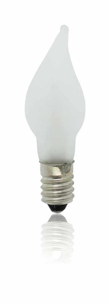 Windstoßlampe frost 55V/3W E10 3er Set