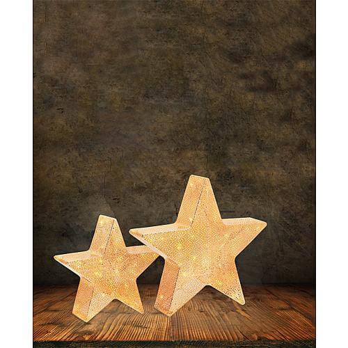 LED Stern 30cm kupferfarben 63174