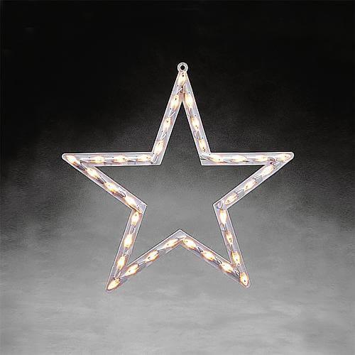 LED-Fenstersilhouette Stern Konstsmide 2164-010