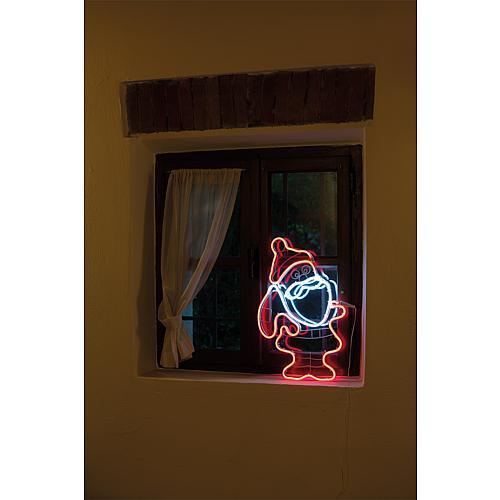 LED Silhouette Weihnachtsmann 54745