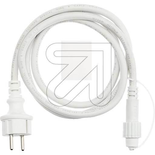 LED-PRO System-Anschlussleitung weiß 43855