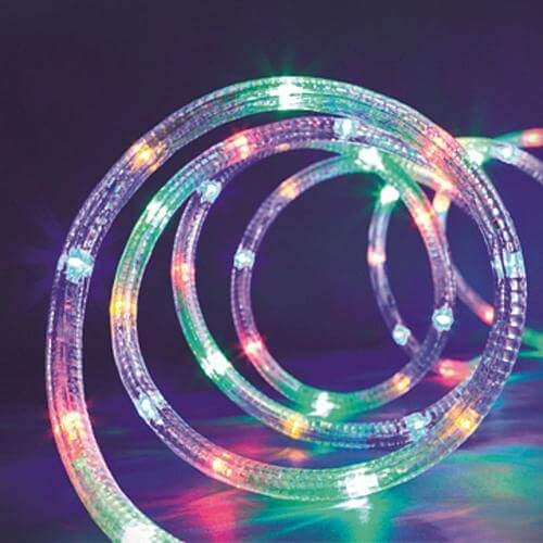 LED Schlauch bunt 15m 37113