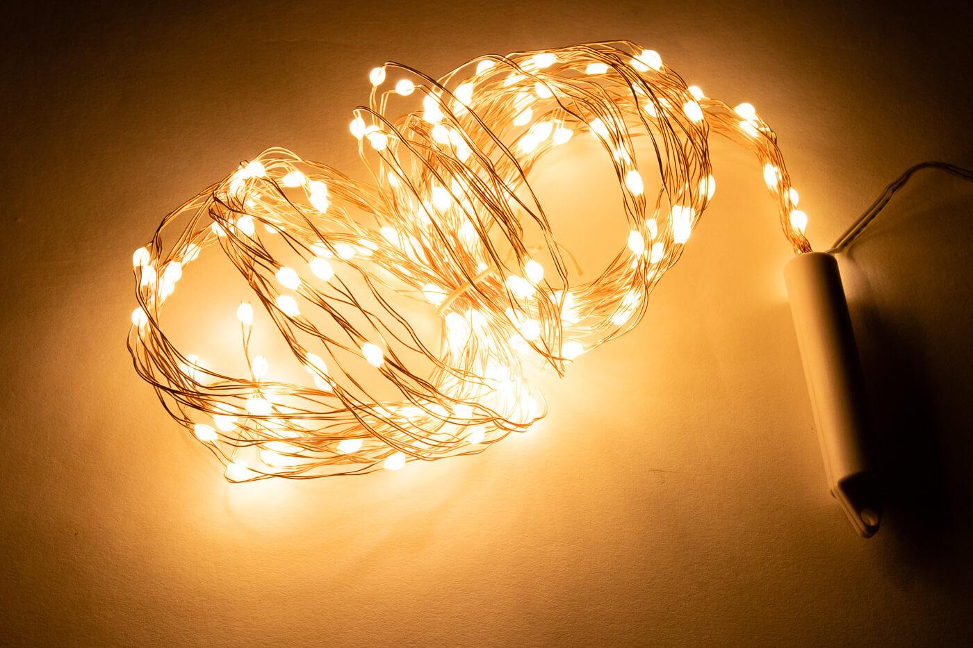 LED-Bündellichterkette Lotti 46863