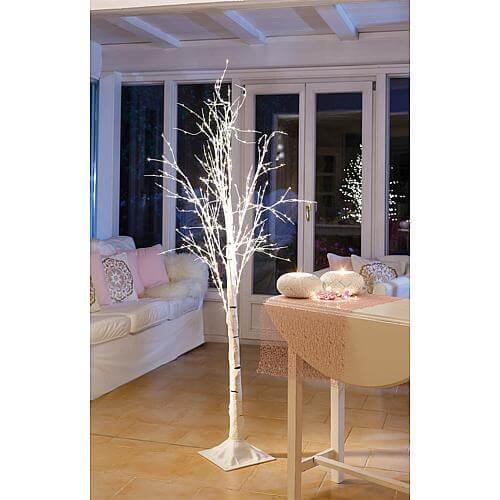 Beschneiter Baum 600 ww LED weiss 37267