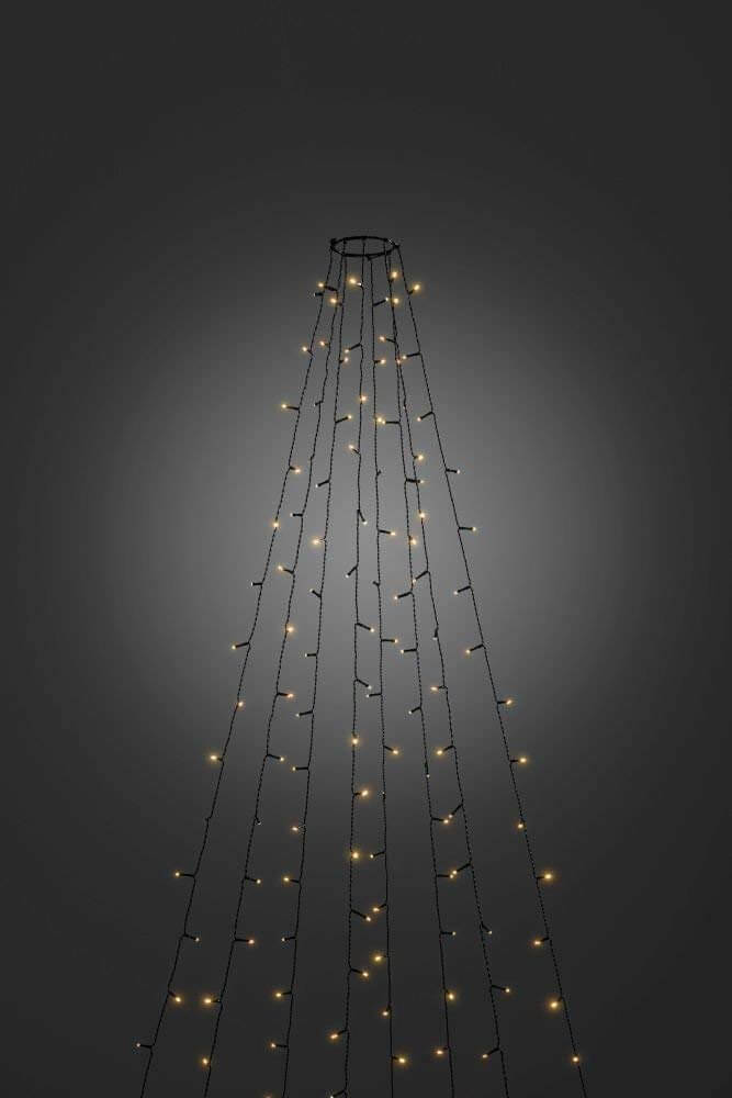 LED Baummantel aussen 240 bernsteinf. LED 6320-810