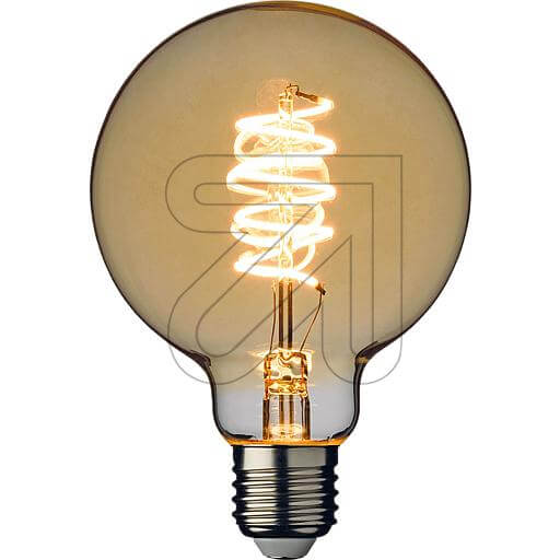 LED-Filament-Globelampe G95 E27 4W 240lm 2200K 44098