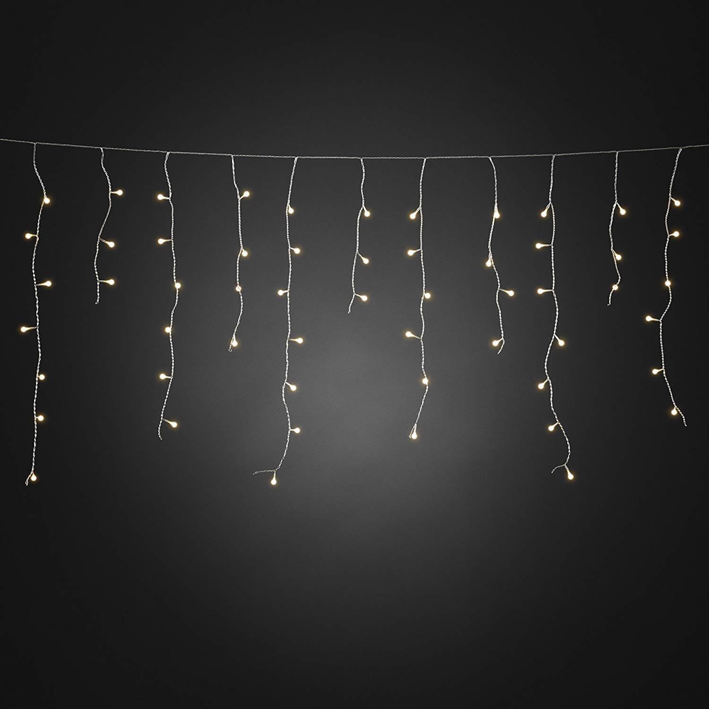 LED-Eisregen-Lichtervorhang