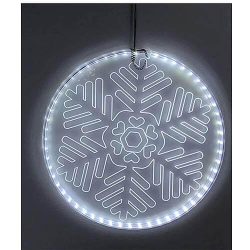 LED-Acrylscheibe Eisblume 44616-3