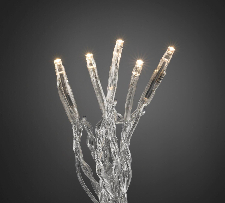 "Konstsmide LED-Microlichterkette "" Onestring "" 10 LEDs 6350-123 warmweiß"