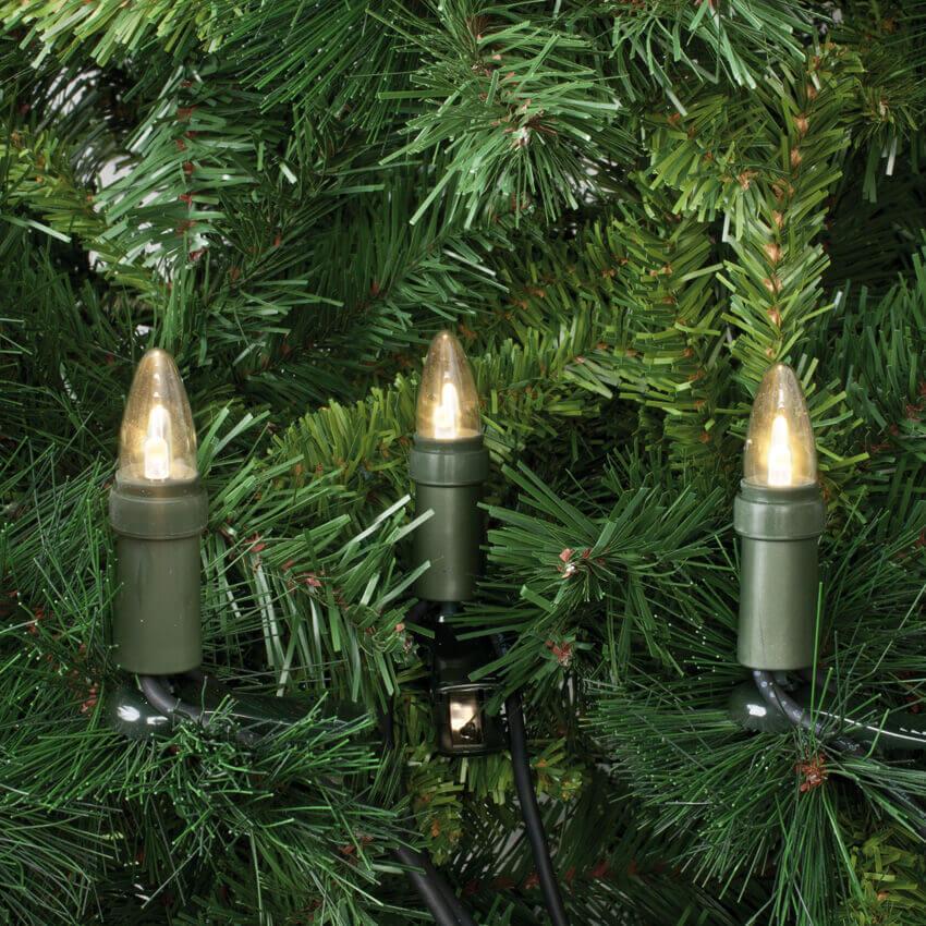 LED Topkerzen Lichterkette 15-tlg. E10 klar Rotpfeil Typ974 9741535700