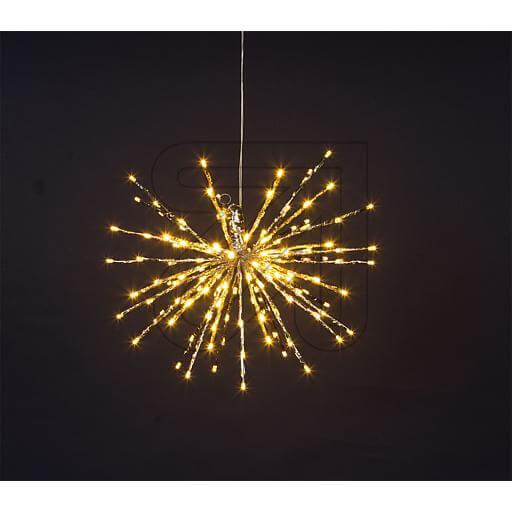 """LED-Stern """"Twig Ball"""" 120 LEDs Ø 40cm warmweiß"""