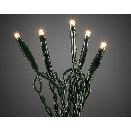 """LED-Micro-Lichterkette """" Onestring """" mit 10 LEDs 6350-120 warmweiß"""