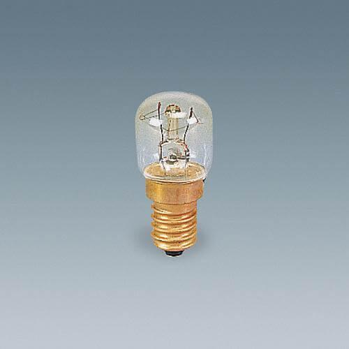 Birnenlampe E14 15W klar