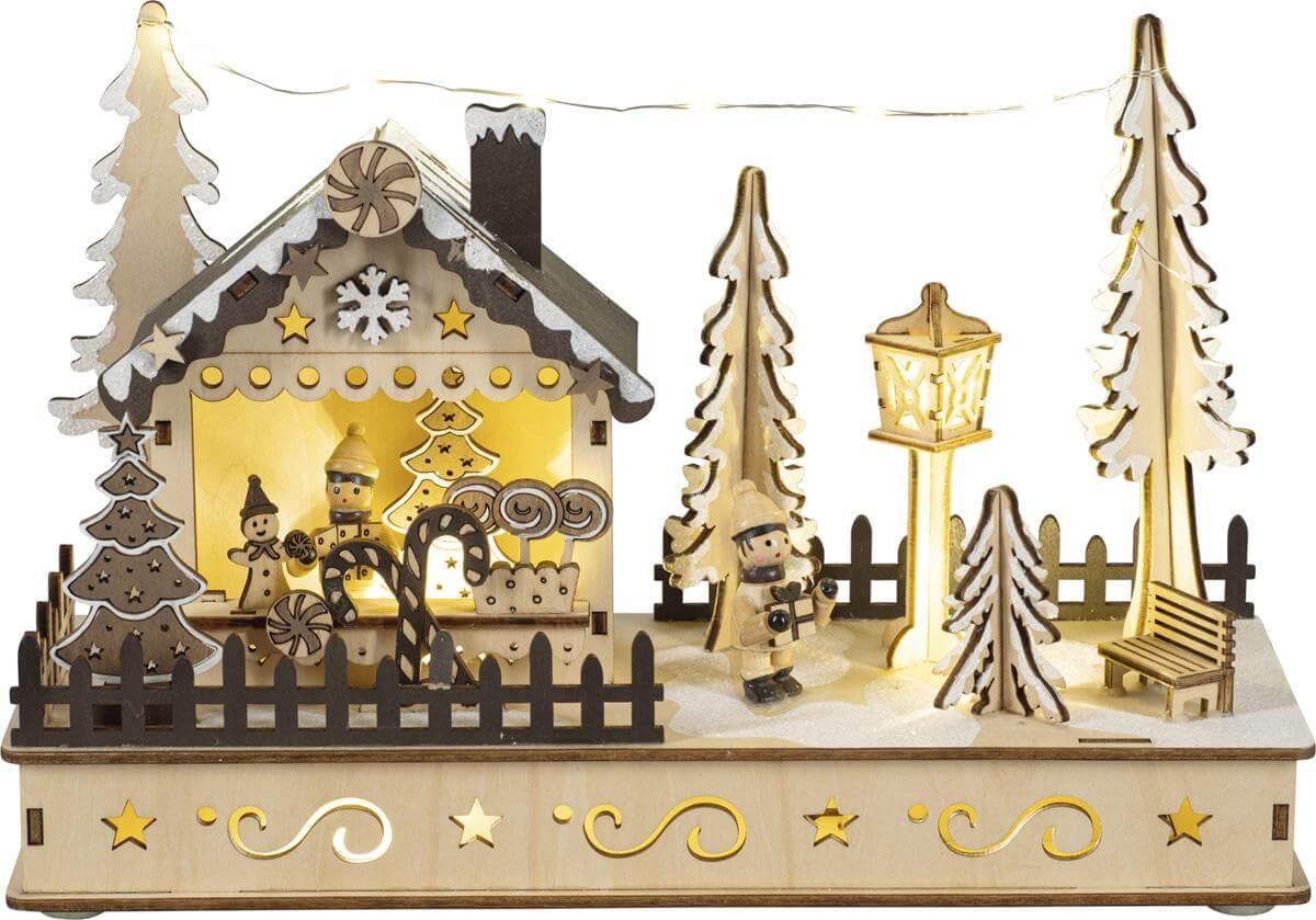 Diorama 'Weihnachtshaus' CLH25-2121