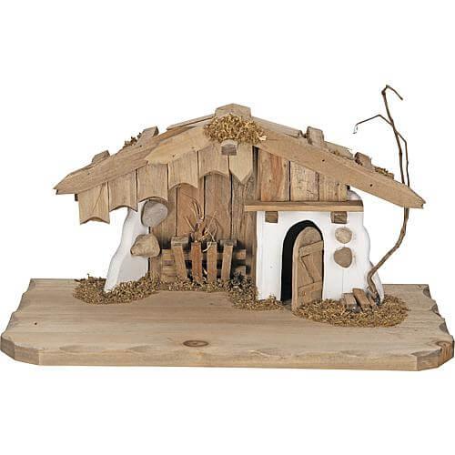 Weihnachts-Krippe 30x16x15cm 78103