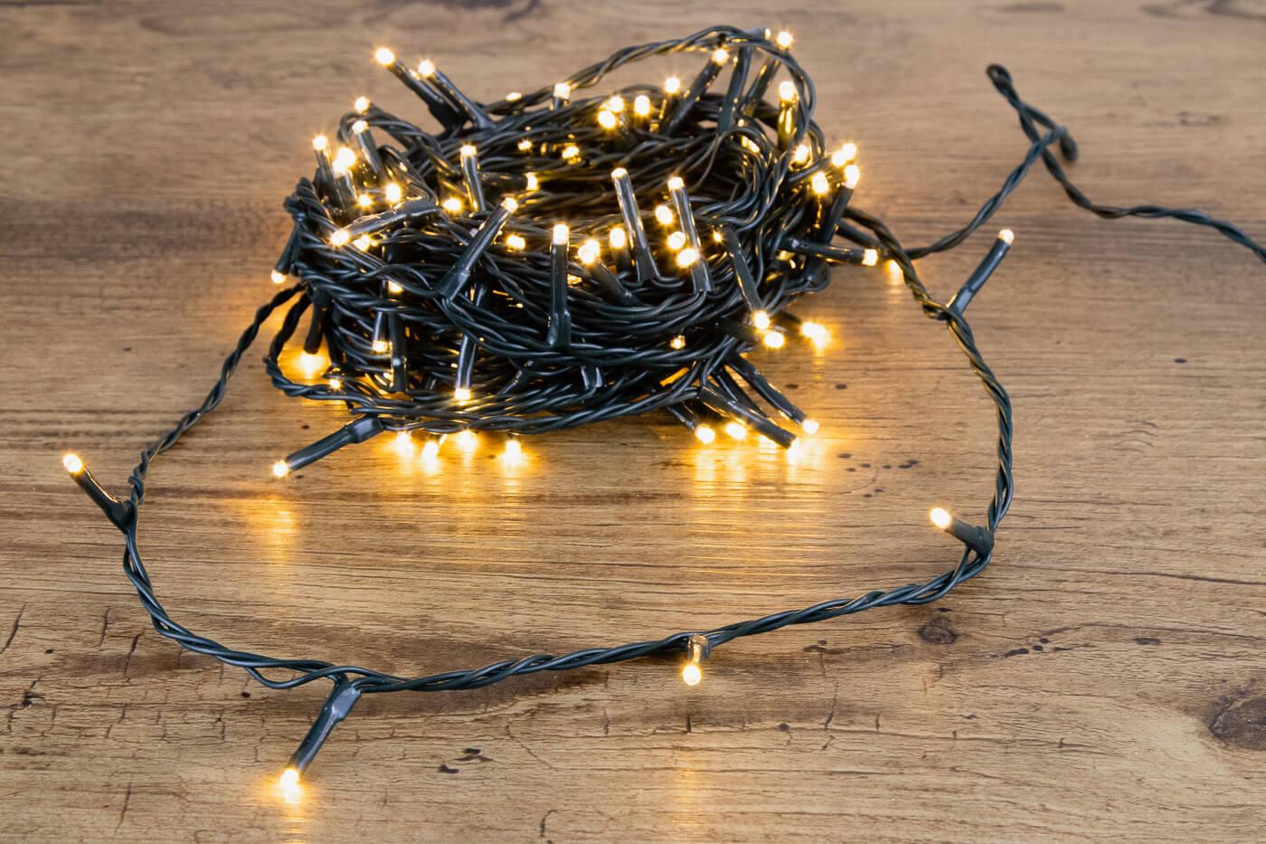 LED-Lichterkette 120 warmw. LED 32415