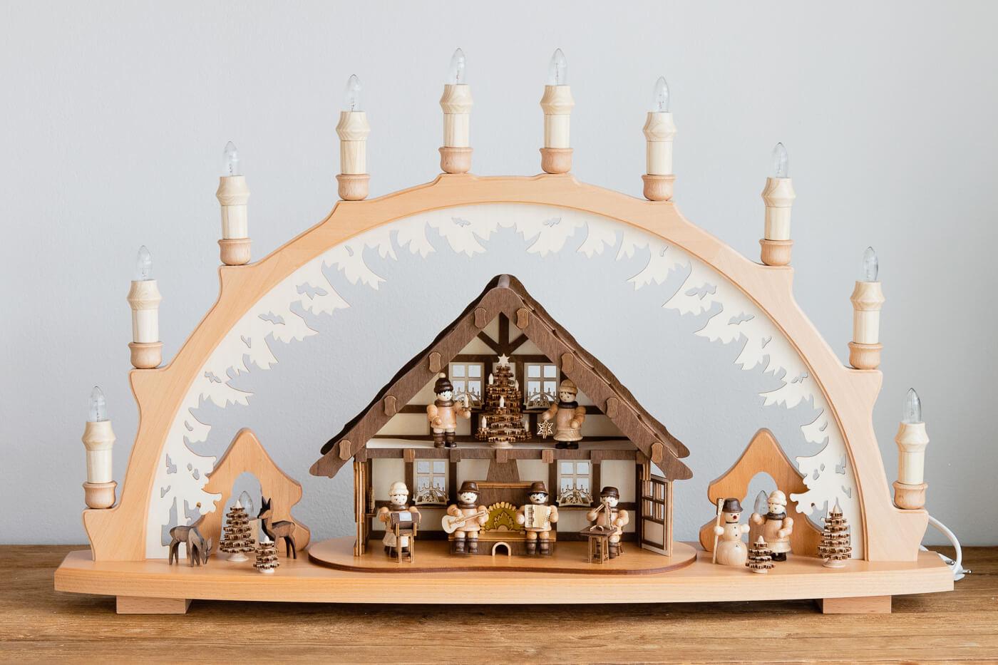 Schwibbogen Hutzenstube Lenk & Sohn 41143