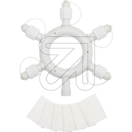 LED-PRO System Ring Verteiler weiss 43978