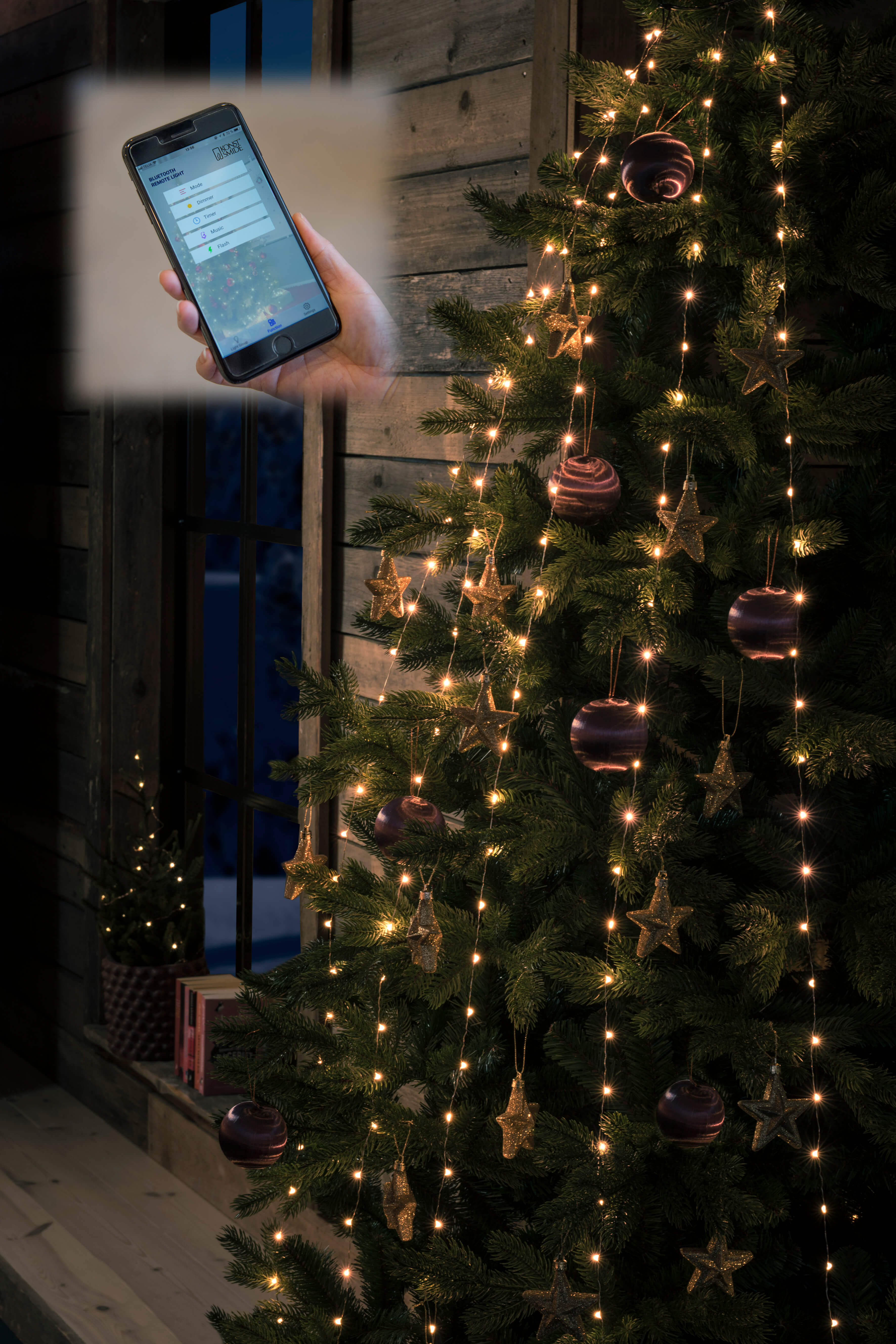 Lichterkette mit App Steuerung Neuheit 2018 Baumlichterkette