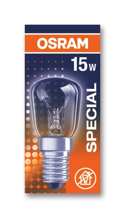 Osram Birnenlampen E14 / 230V 15W