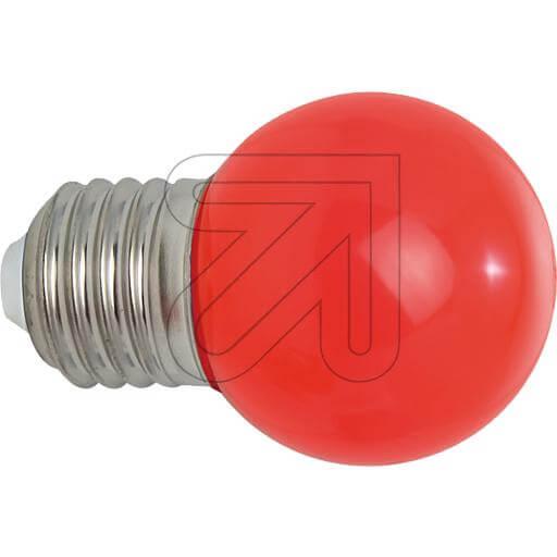 LED-Deko-Tropfenlampe E27 IP54 rot