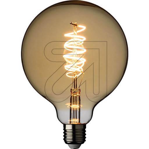 LED-Filament-Globelampe G125 E27 4W 240lm 2200K 44104