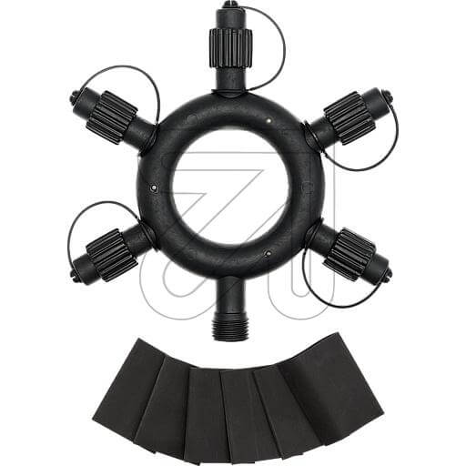 LED-PRO System Ring Verteiler schwarz 43961