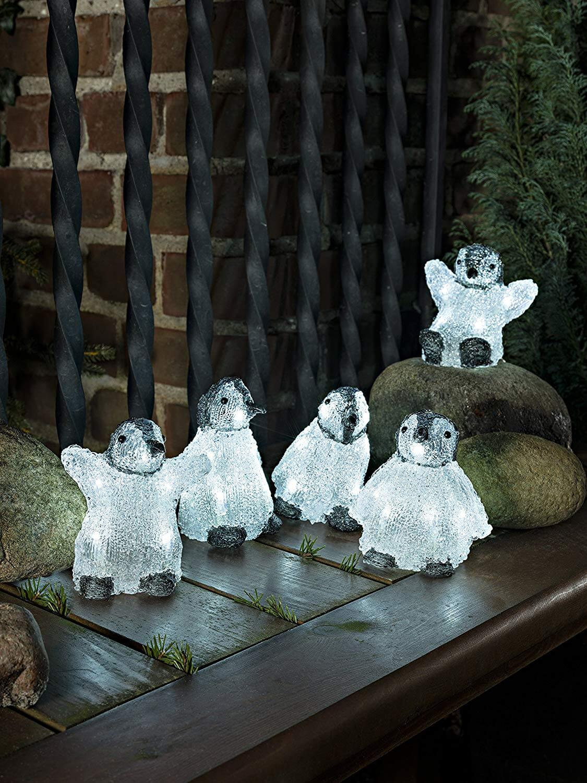 LED-Acryl-Pinguine Konstsmide 6266-203