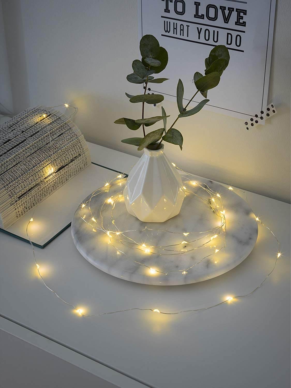 LED-Tropfenlichterkette Konstsmide 1460-890