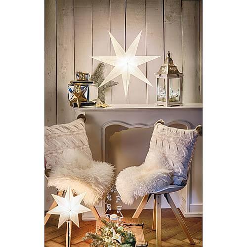 Papier-Weihnachtsstern Frozen 231-91