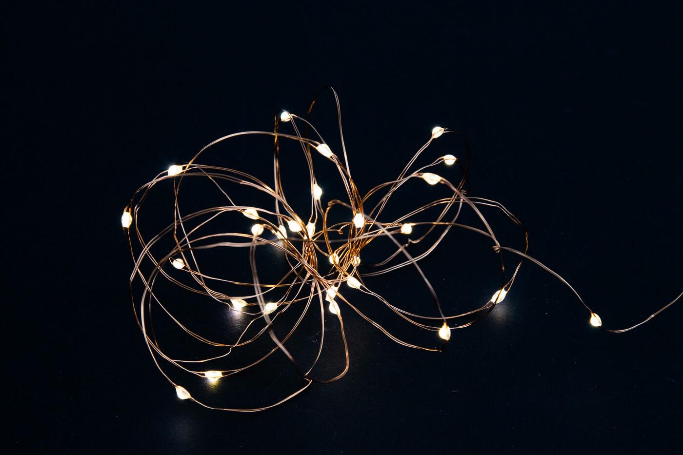 LED-Microlichterkette 47198