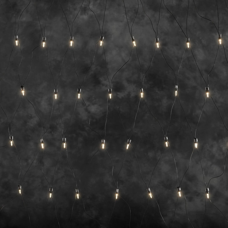 Konstsmide 4323-100 LED-Lichter-Netz 1,5x3,2m 160 LEDs warmweiß