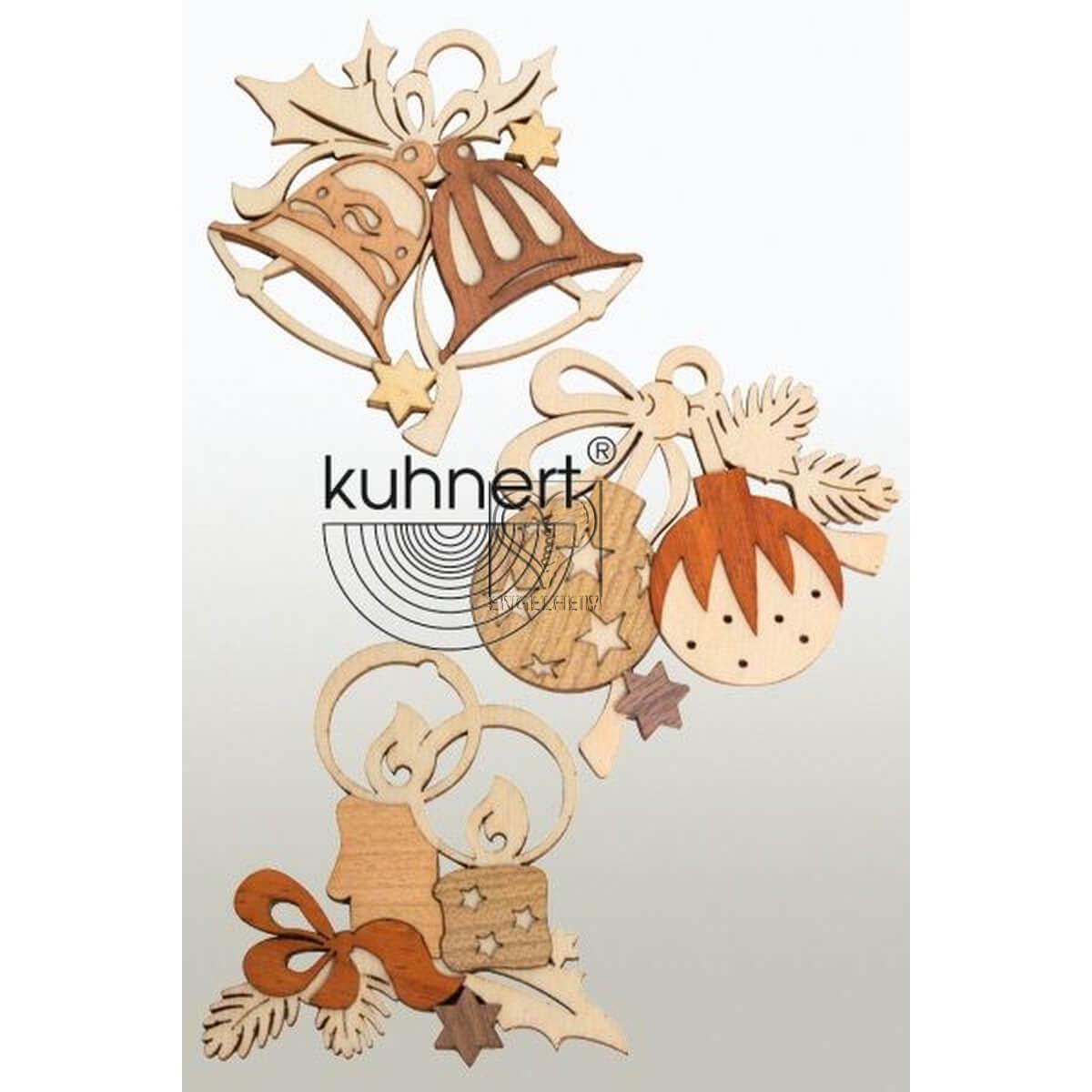 Baumschmuck-Set echt Erzgebirge Kuhnert 19094