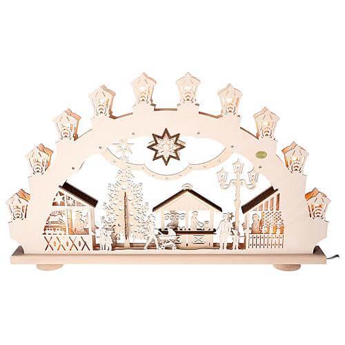 3D-Lichterbogen 'Weihnachtsmarkt' Saico LBE1985