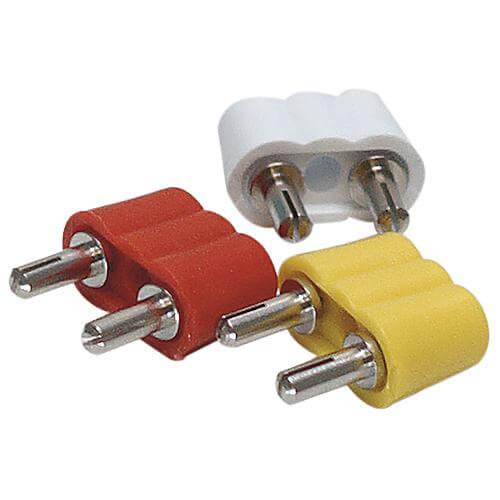 Anschlussstecker für Krippenbeleuchtung 10er Set