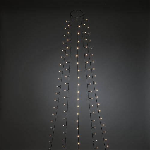 LED Baummantel gefrostet 150 ww LED 6480-120